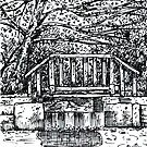'Little Bridge at Broyhill Park' by Jerry Kirk