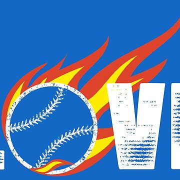 Baseball and Softball Love by RhoaDesigns