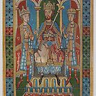 Frederick I Barbarossa and his two sons by edsimoneit