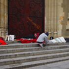 Sleeping Rough In The City by lezvee