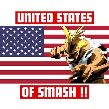 United States Of Smash ! - All Might by DanyShop