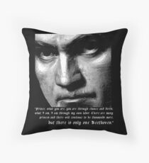 There is only one Beethoven! Floor Pillow
