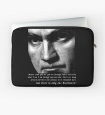 There is only one Beethoven! Laptop Sleeve
