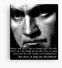 There is only one Beethoven! Canvas Print