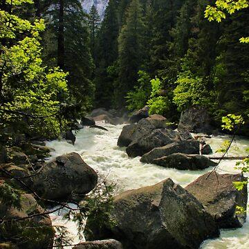 Rushing River by lenzart