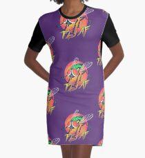 Fly AF Graphic T-Shirt Dress
