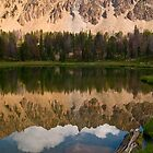 Middle Born Lake, White Cloud Peaks, Idaho by Albert Dickson