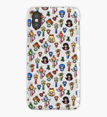 Sailor Moon Inner Senshi - Grey iPhone Case/Skin