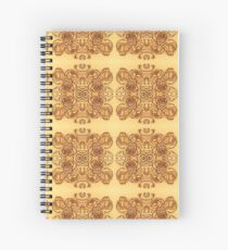 Blush Roses Pattern Spiral Notebook