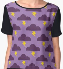 Embrace the Stormy Weather Chiffon Top