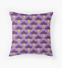 Embrace the Stormy Weather Throw Pillow