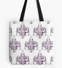 Zee the Sea Goddess Damask Tote Bag