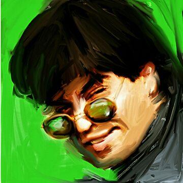 shahrukh khan portrait of bollywood superstar by digitaldrool