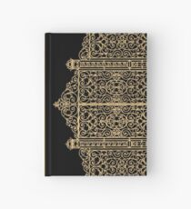 French Wrought Iron Gate | Louis XV Style | Black and Gold Hardcover Journal
