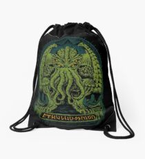 The Sleeper of R'lyeh Drawstring Bag