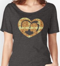 Hearts, Roses, and a Kiss Women's Relaxed Fit T-Shirt