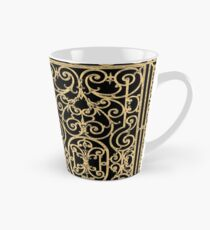French Wrought Iron Gate | Louis XV Style | Black and Gold Tall Mug