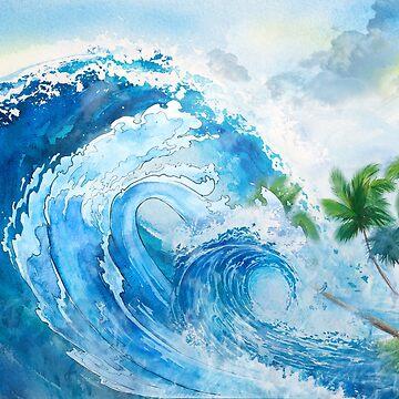 Big waves by creative97