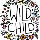 wild child flower design by cloverkate