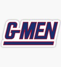 G-MEN 1 Sticker
