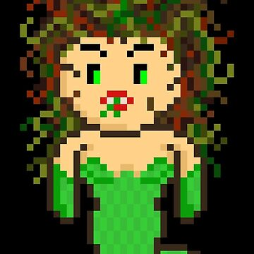Pixel Monster Medusa by gkillerb
