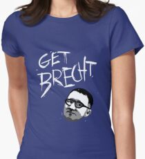 GET BRECHT Women's Fitted T-Shirt