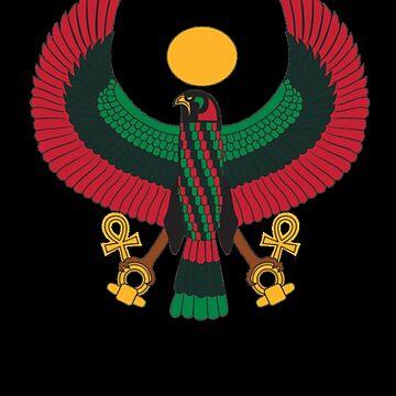 Heru Shirt Pan African Black Power Africa Unity T-Shirt Gift by thehadgaddad