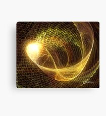 Fabric of Time Canvas Print