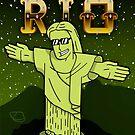 The Face of Rio - Christ by Felipe Navega