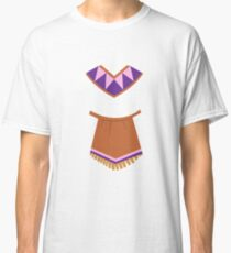 Indian Girl Costume For Halloween and Thanksgiving Classic T-Shirt