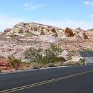 Valley of Fire Road Nevada by clizzio