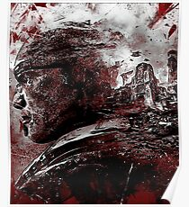 Gears of War - Marcus Fenix - Ashes and memories Poster