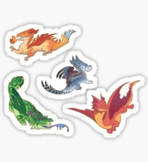 Dragons stickers Sticker