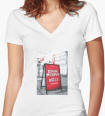 Donna Murphy Is Dolly Women's Fitted V-Neck T-Shirt