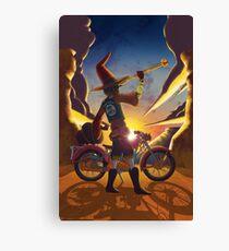 Wilco the Biker Wizard Canvas Print