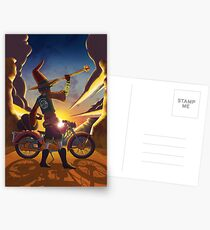 Wilco the Biker Wizard Postcards