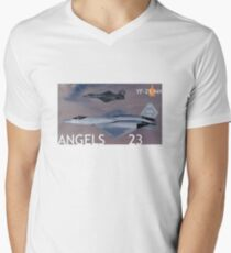 PHOTO201B Men's V-Neck T-Shirt