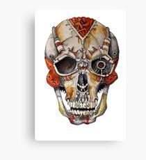 MechaSkull Canvas Print