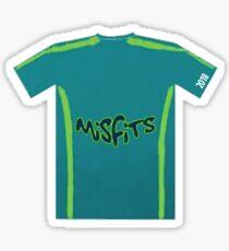 Misfits Jersey Sticker
