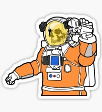 Welcome to Mars Sticker
