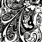 Escape, Ink Drawing by Danielle Scott