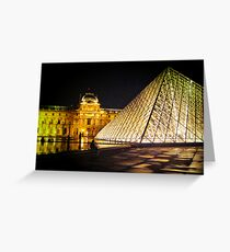 Le Louvre Greeting Card