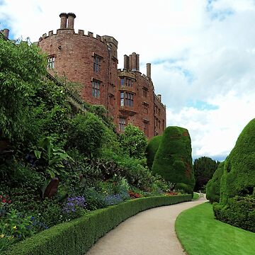 Powis Castle and Gardens - Powys, Wales by blossom