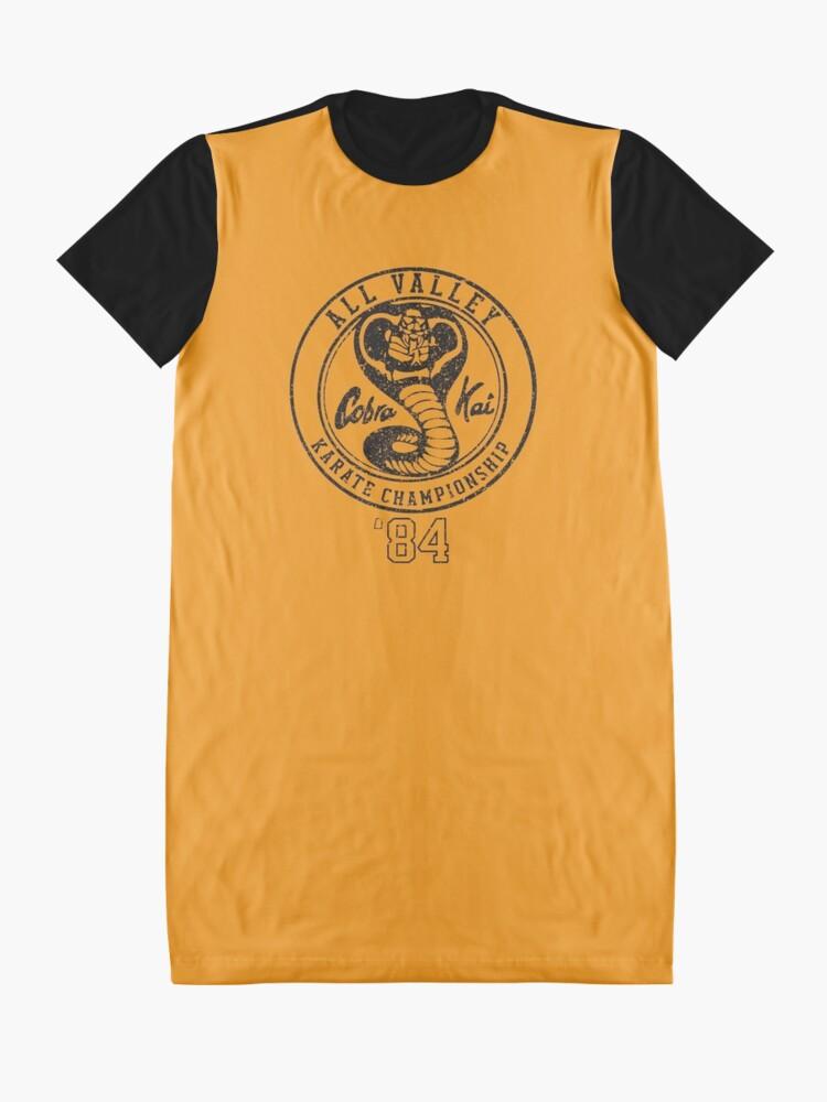 Alternative Ansicht von Cobra Kai T-Shirt Kleid