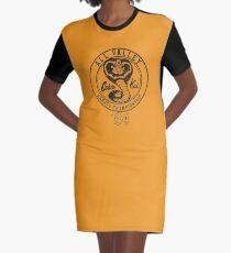 Cobra Kai T-Shirt Kleid
