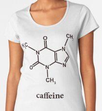 Caffeine Molecule Women's Premium T-Shirt