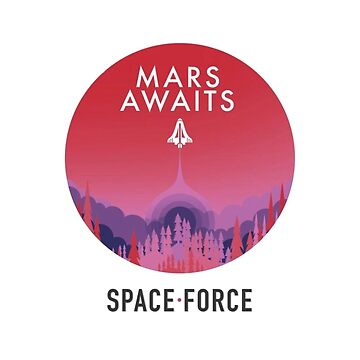 Space Force Mars Awaits Logo by rje20