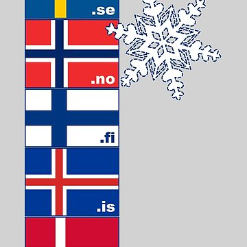 Nordic Cross Flags by annyarden