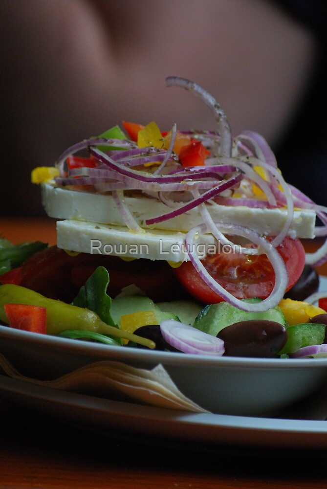 Greek Salad by Rowan  Lewgalon
