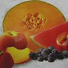 Textured Fruit by Linda Miller Gesualdo